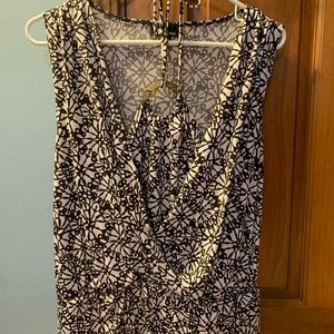 Ladies tank blouse